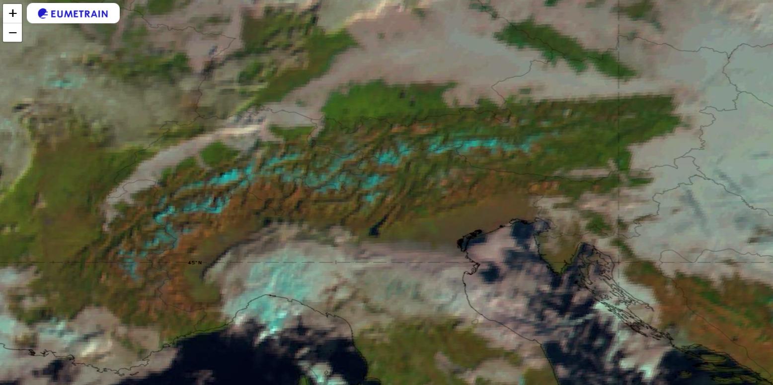 Meteosat-11 Natural Colour RGB image for 27 November 2020, 09 UTC