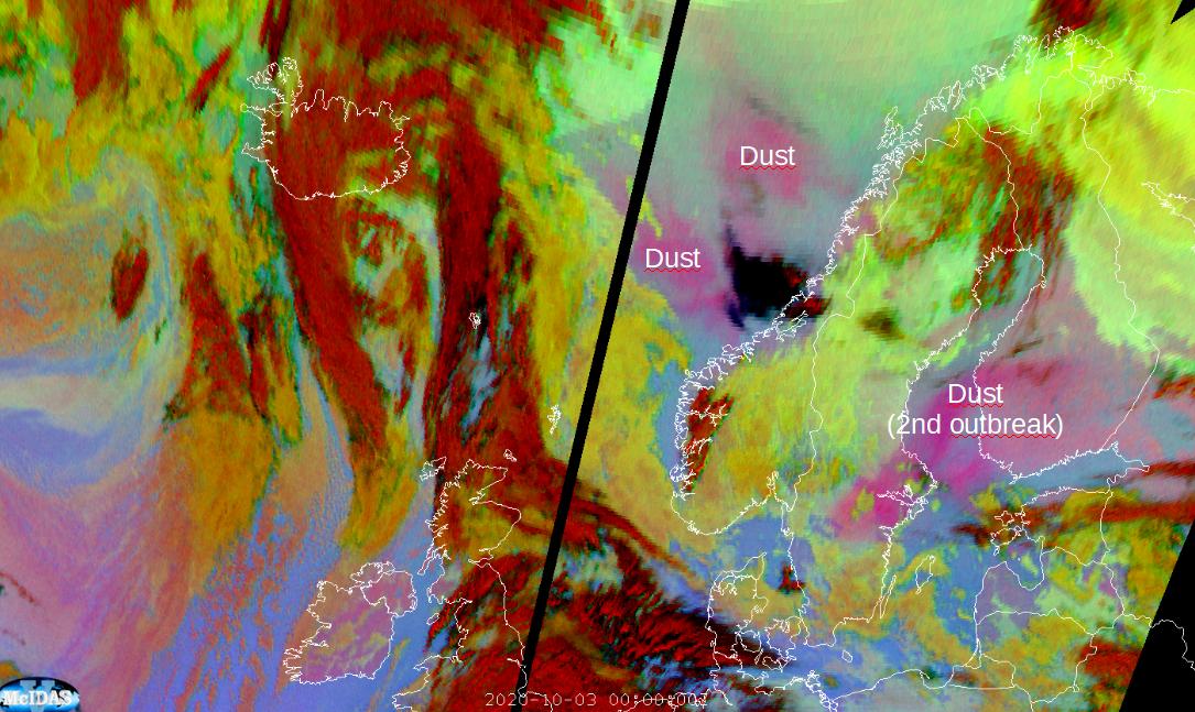 Meteosat-11 24h microphysics RGB