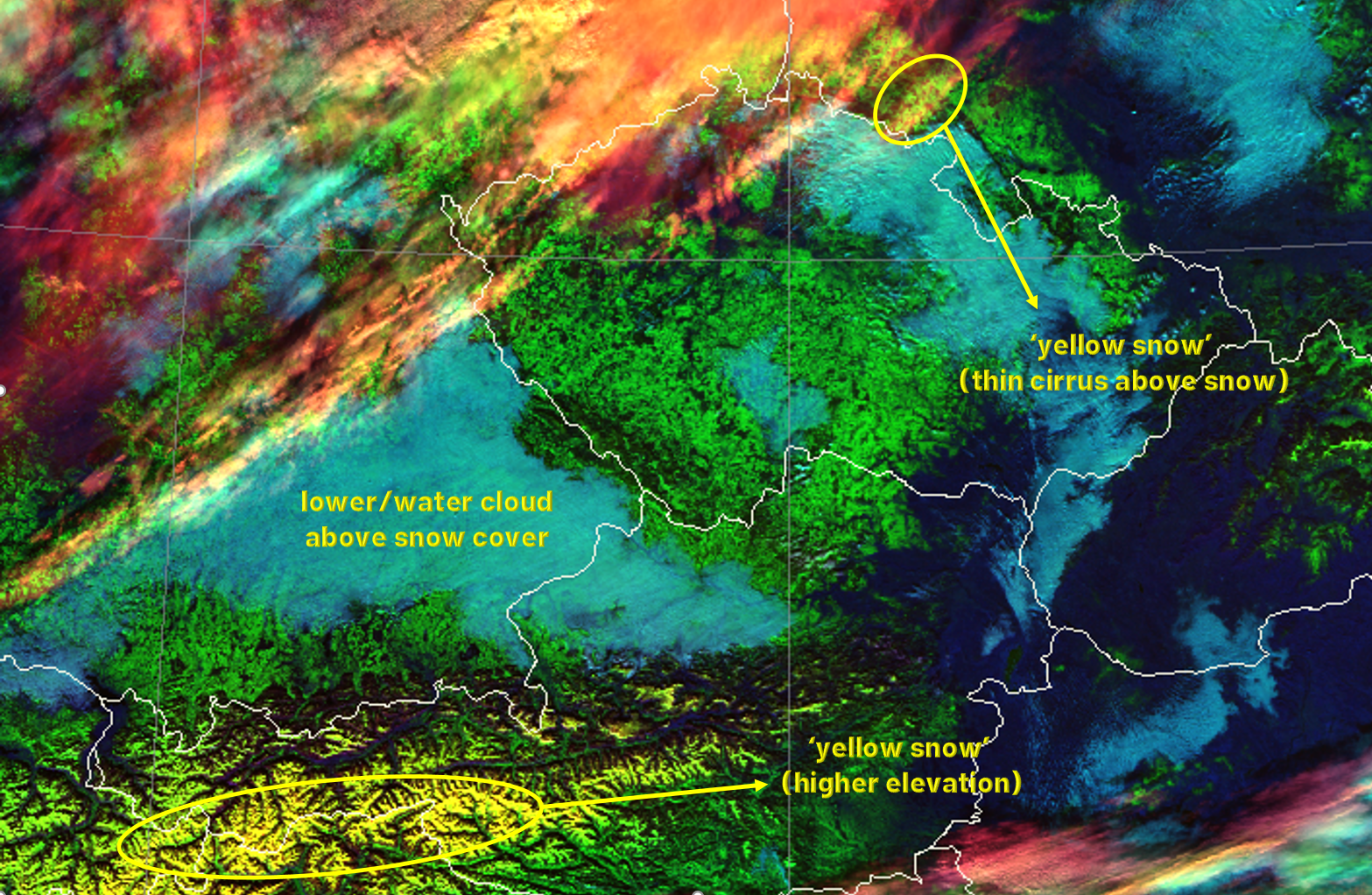 NOAA-20 Cloud Type RGB