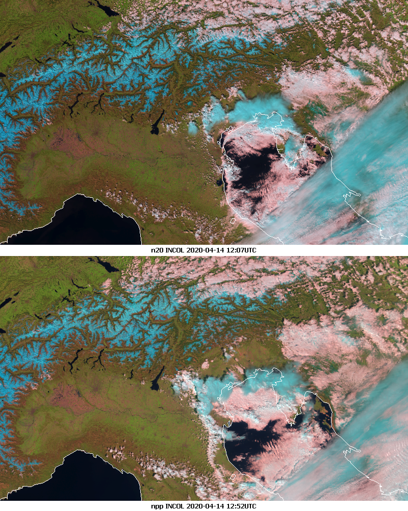 NOAA-20 and SNPP INCOL
