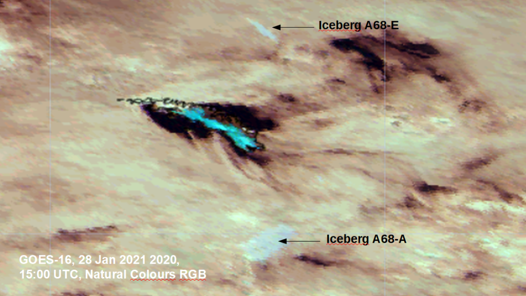GOES-16 Natural Color RGB
