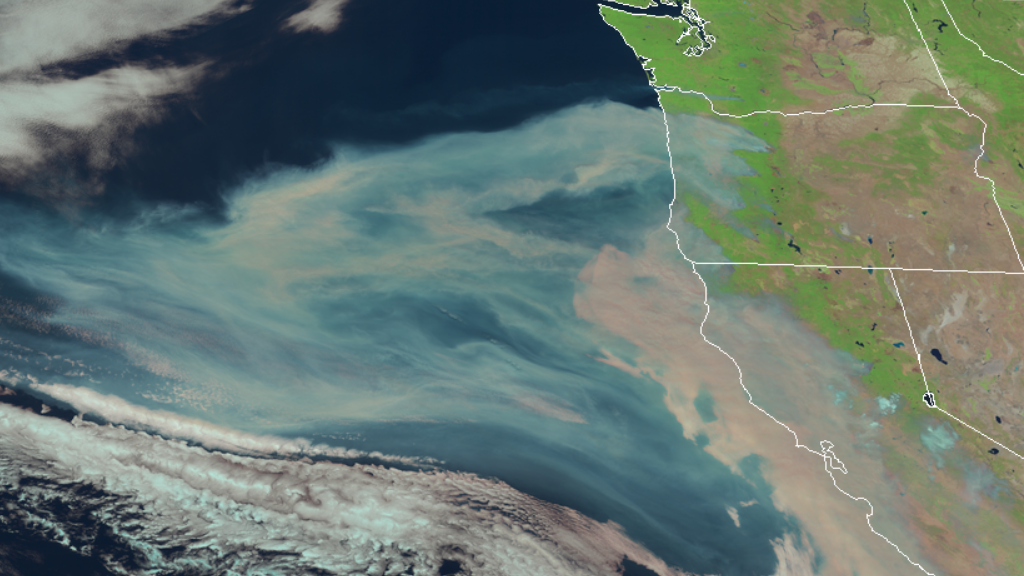 GOEs-17 Natural Color RGB 9 Sept 2020