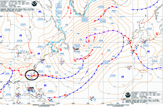 Atlantic Surface Analysis