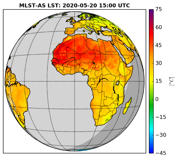 MSG-based All Sky Land Surface Temperature