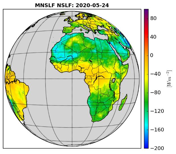 MSG-based Net Surface Longwave