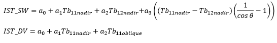 IST study algorithm equation