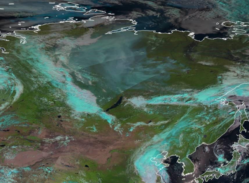 Metop-B AVHRR NCOL/Fog, 29 July 2021