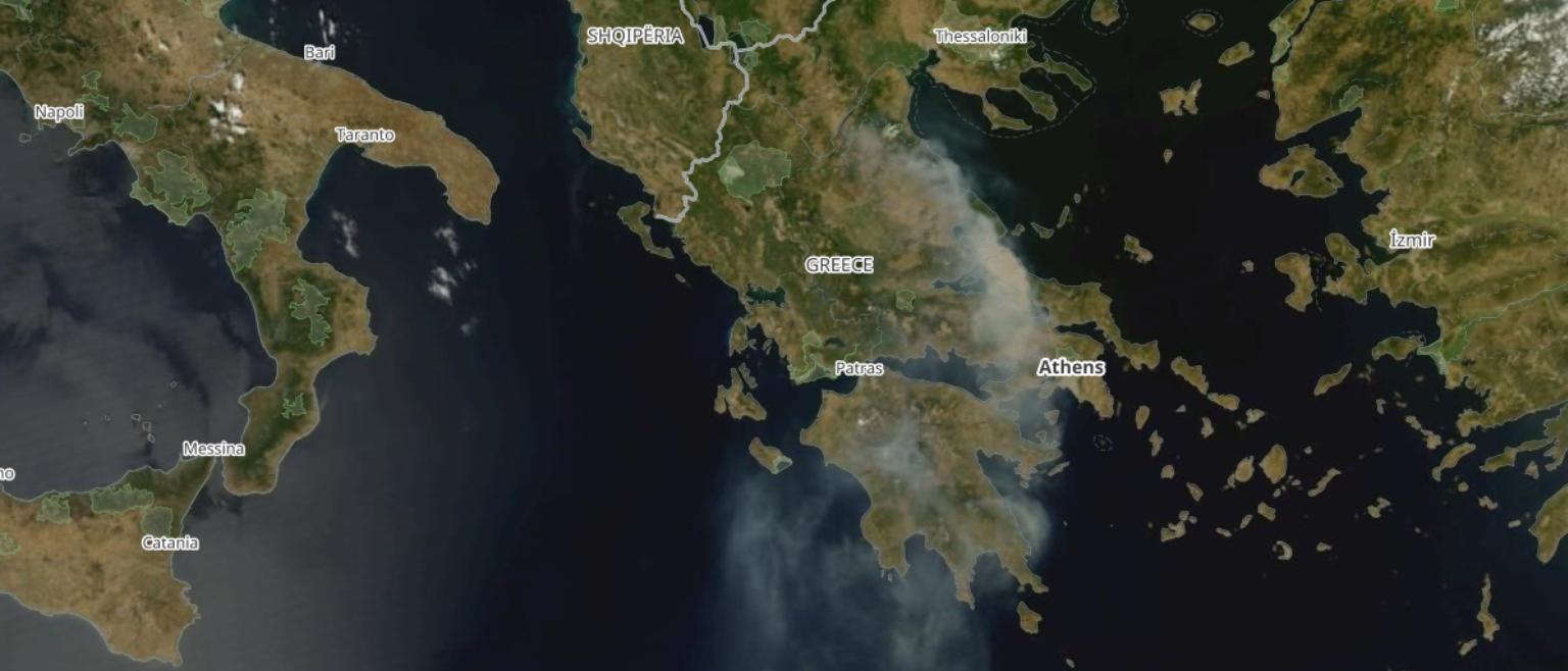 MODIS 8 August 2021