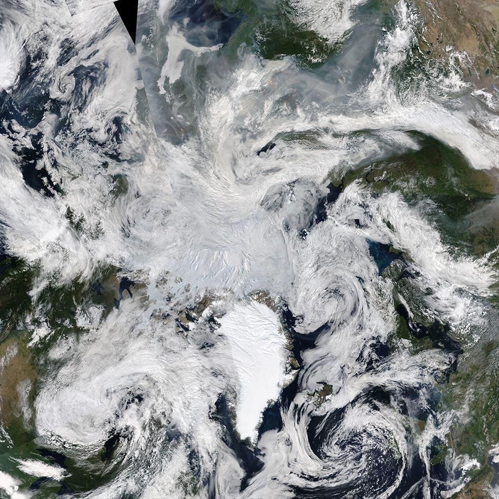 Russian Fires - NASA 12 08 2021