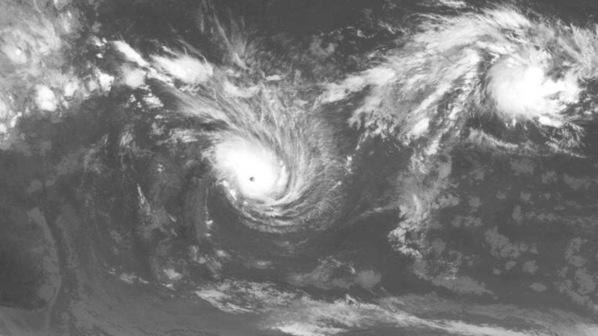 Tropical cyclone Ando in the Indian Ocean