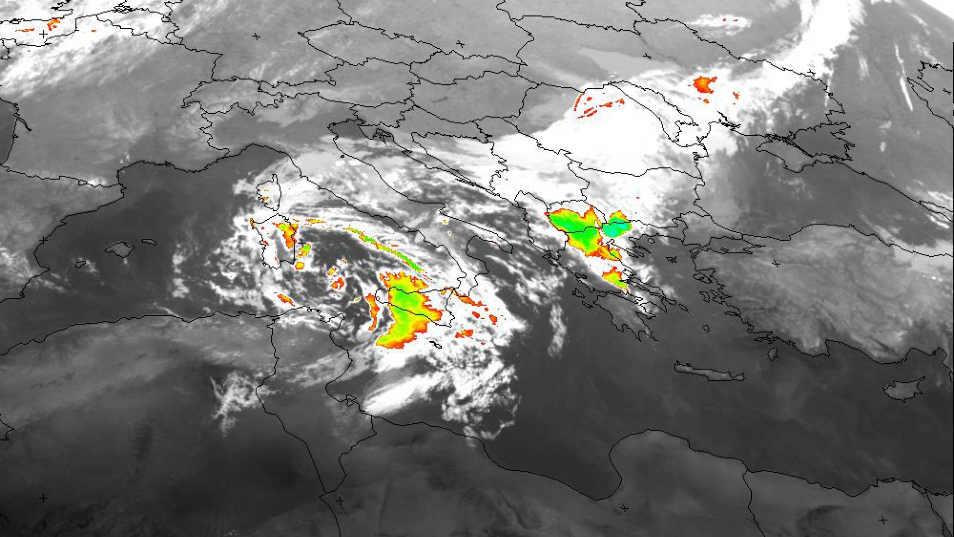 Flash flood in Thessaloniki