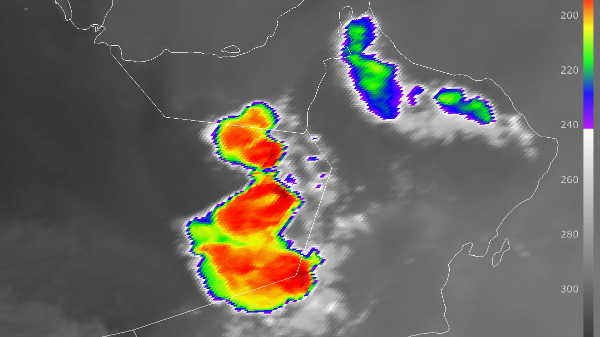 Ring-shape convective storms