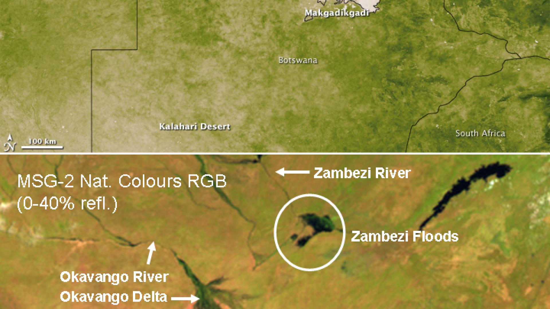 Zambezi floods