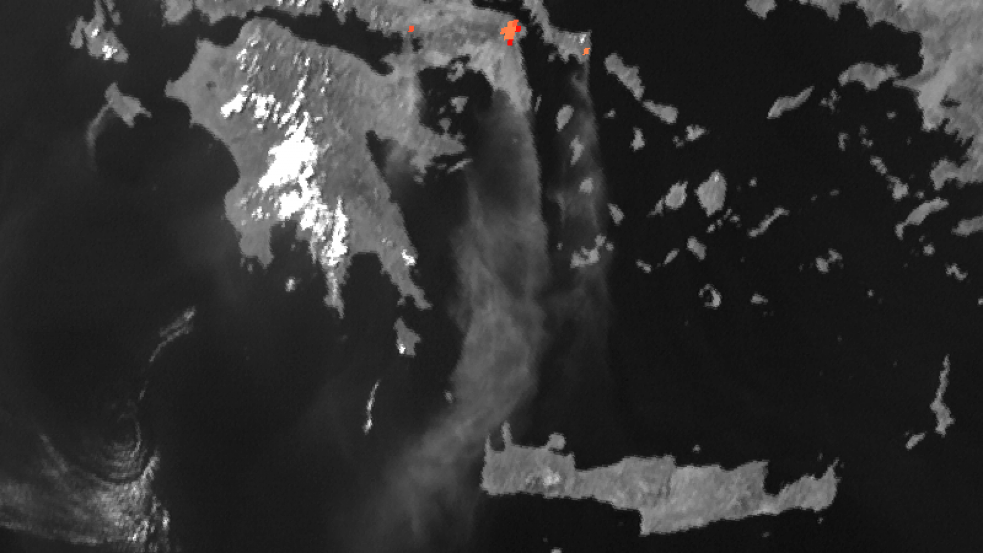 Wild fires threaten the city of Athens