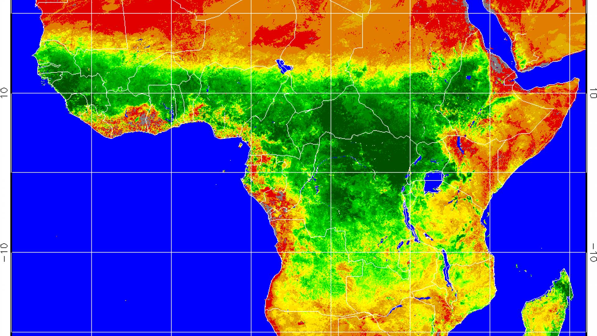 Prolonged drought in Kenya