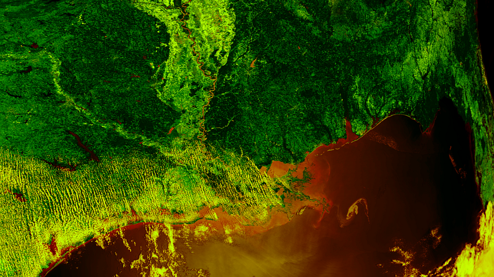 Gulf oil spill approaches the Mississippi Delta