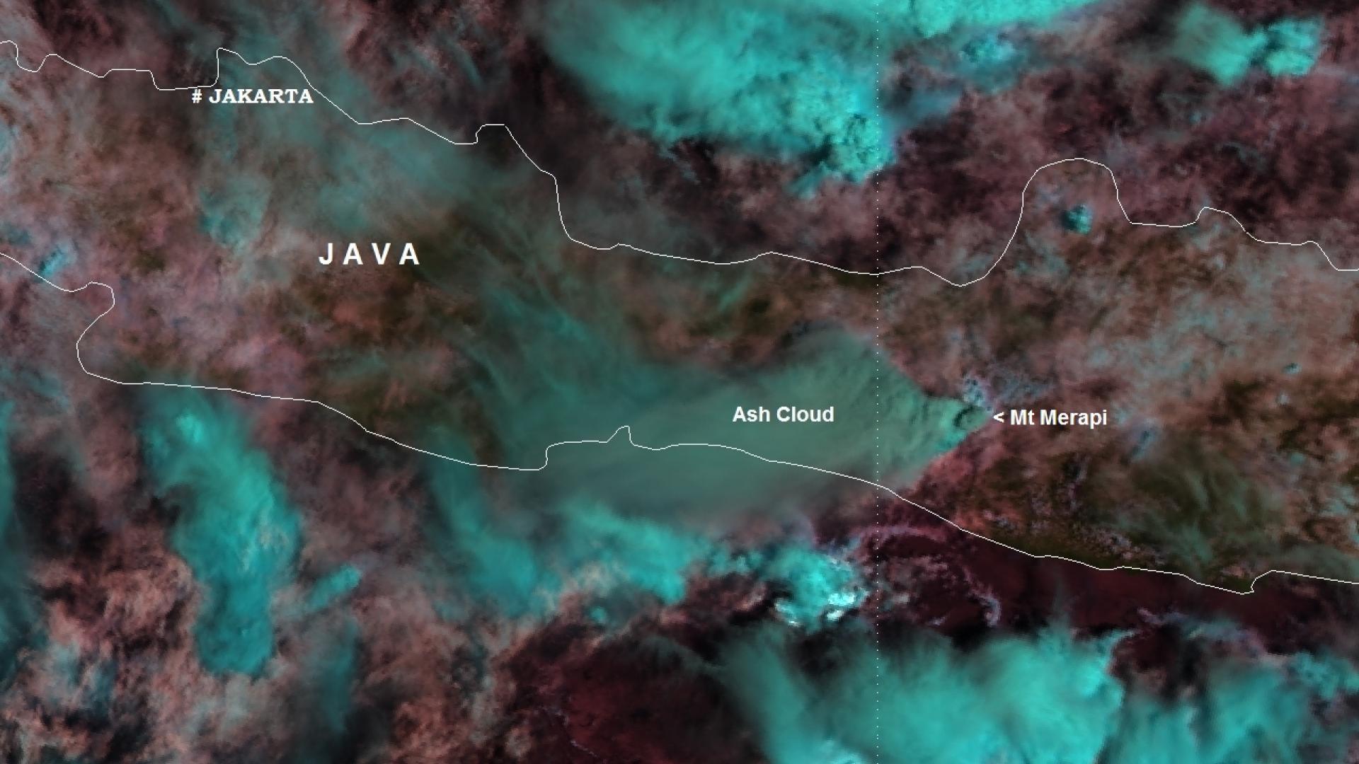 Mt Merapi (Java, Indonesia)