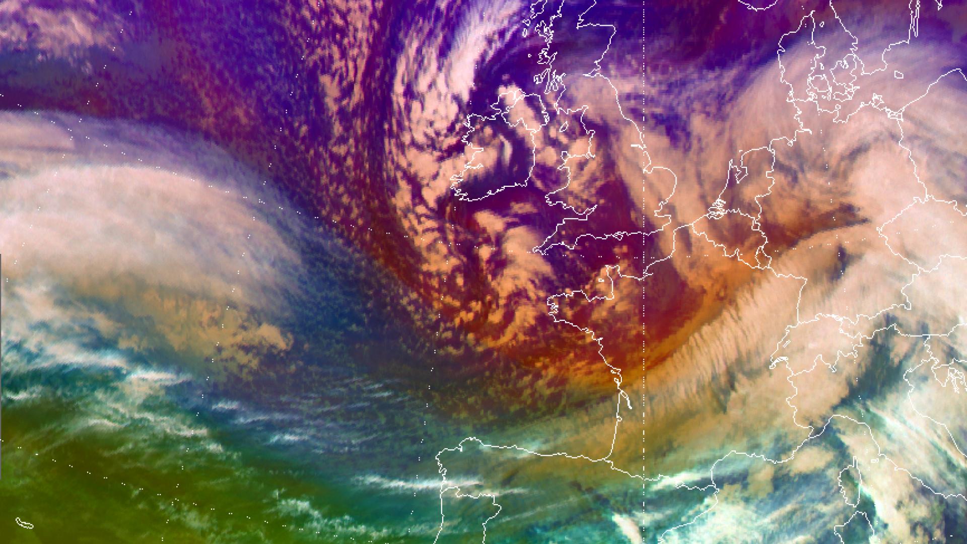 Storm Joachim hits France, Germany and Switzerland