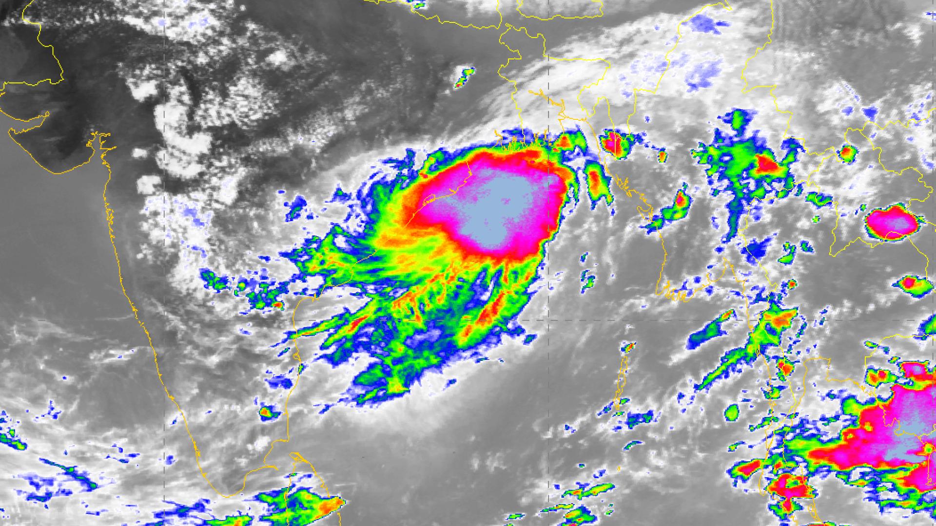 Tropical Cyclone Mahasen
