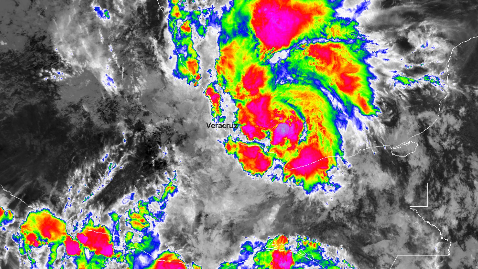 Tropical depression Fernand