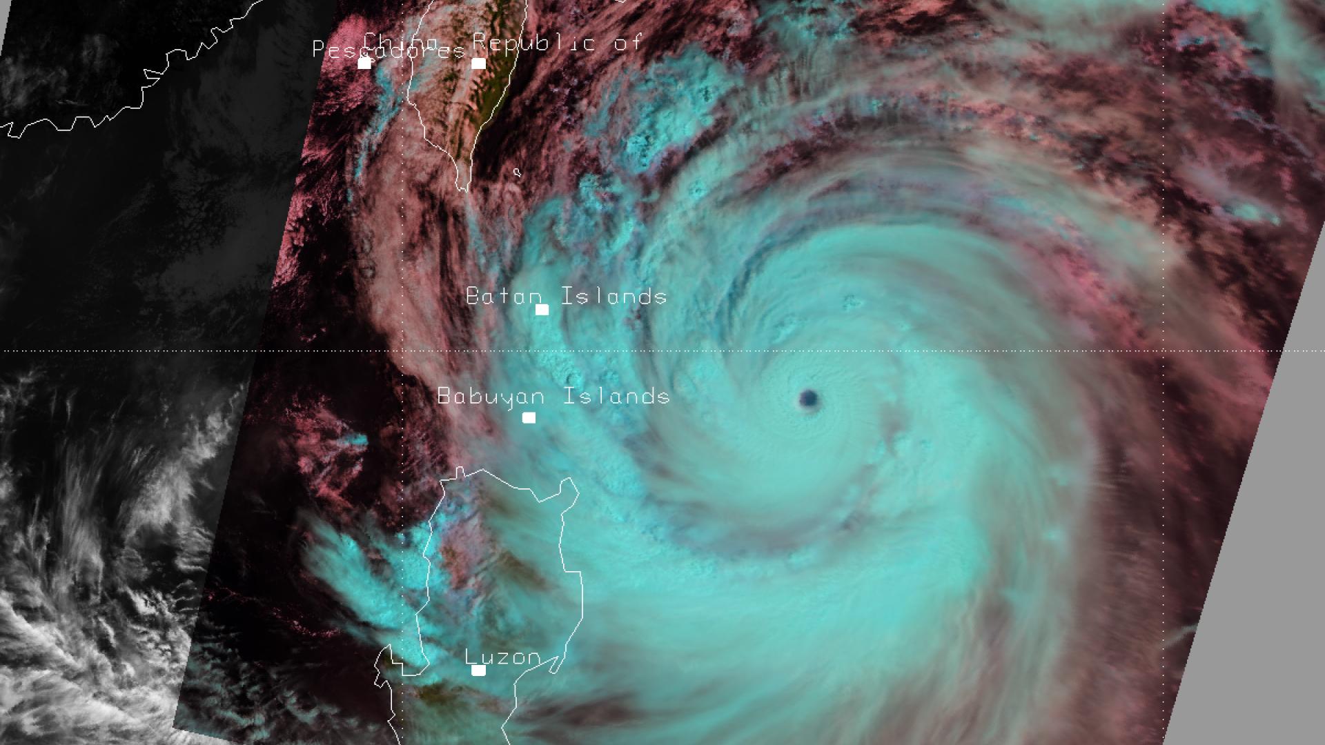 Super Typhoon Usagi seen by Metop