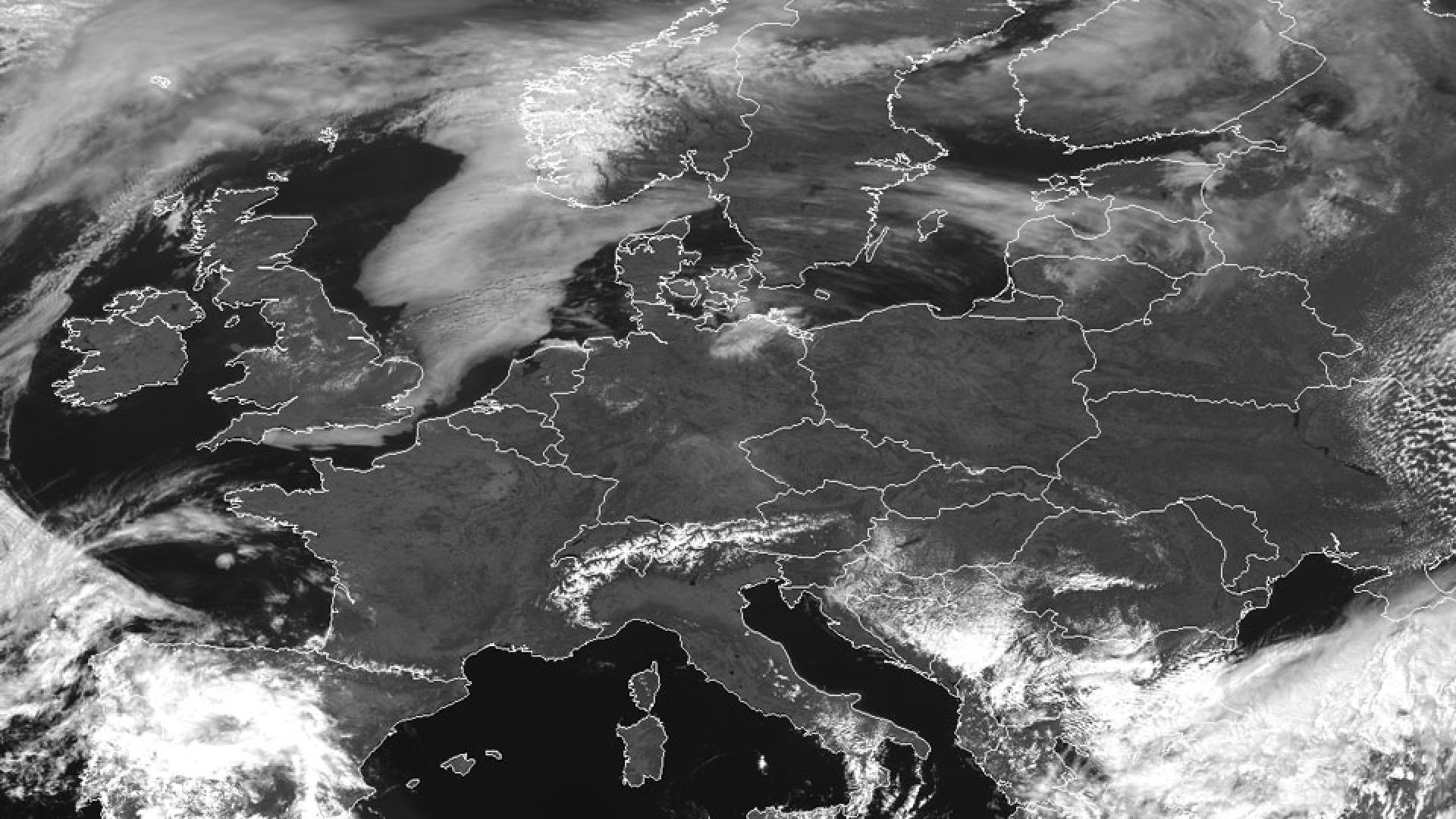 Anticyclone over Europe
