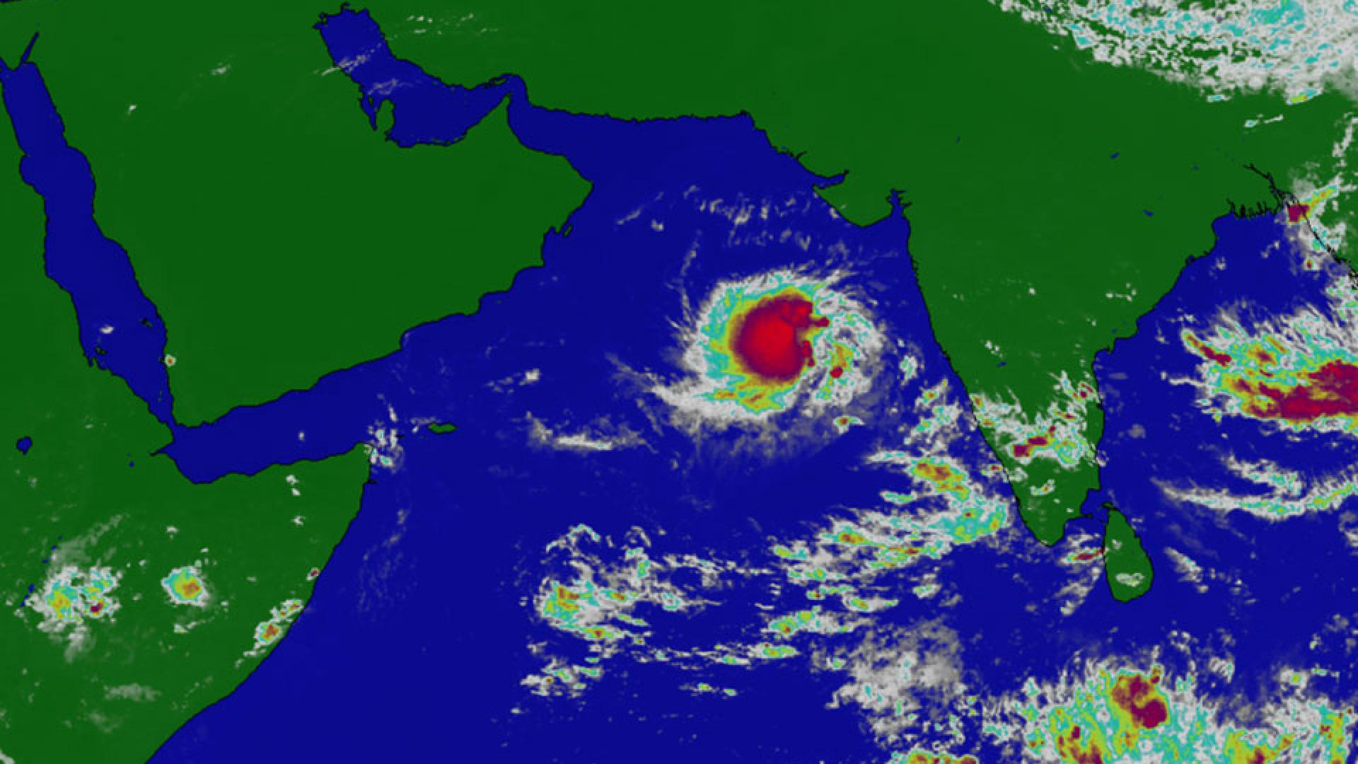 Tropical depression  in Northern Indian Ocean/Arabian Sea