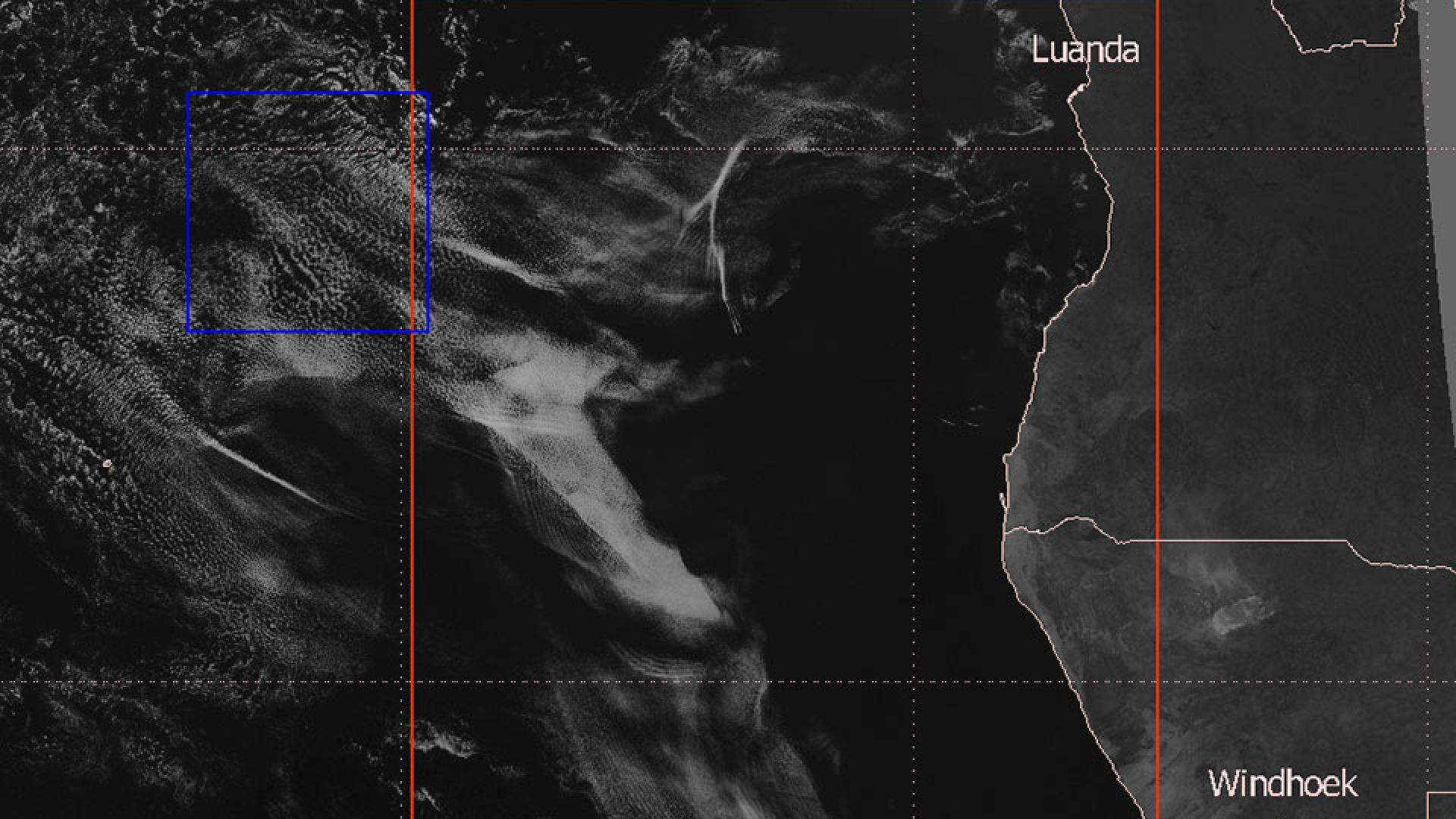 Gravity waves over the South Atlantic