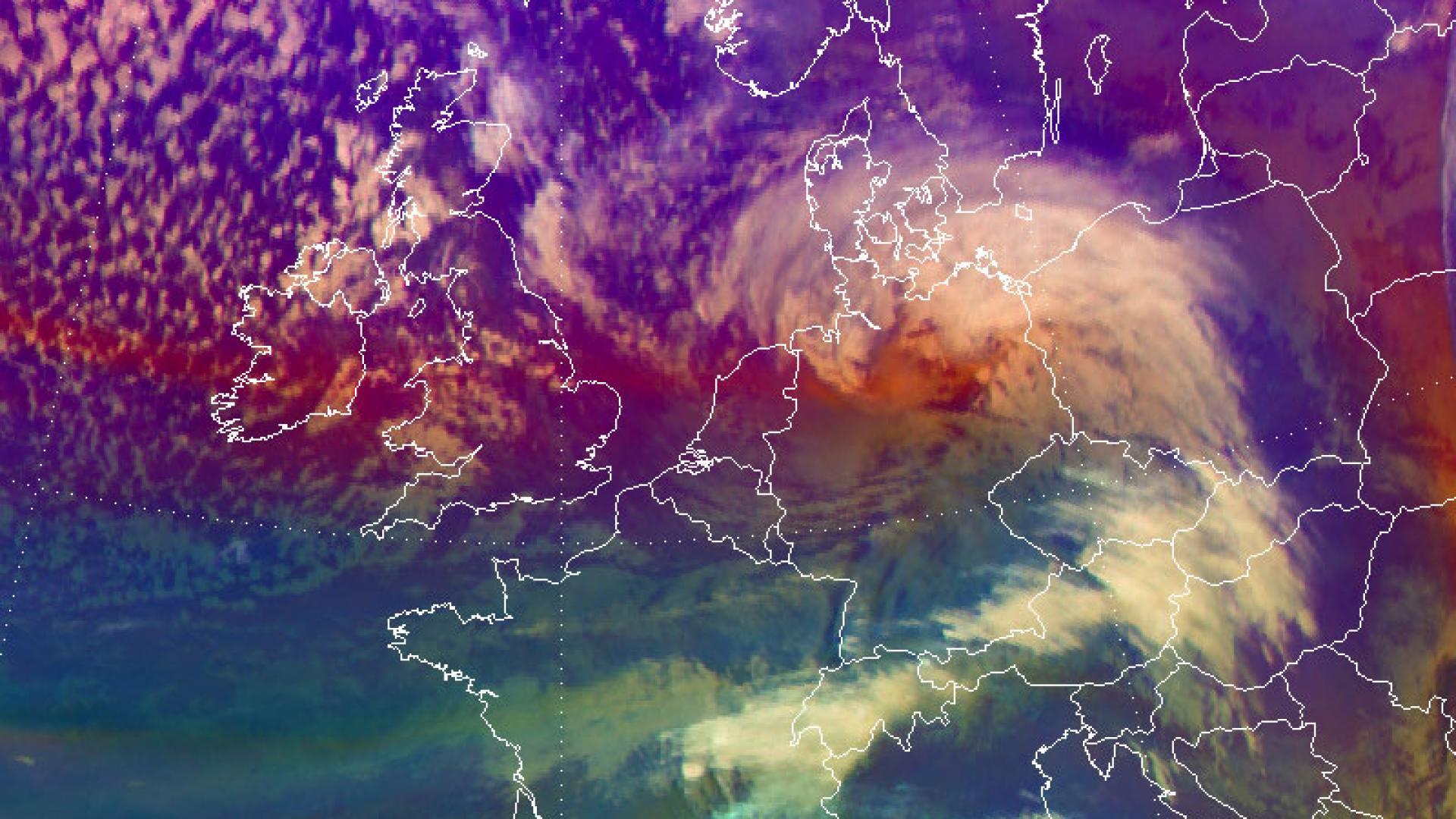 Storm Friederike batters western parts of Europe