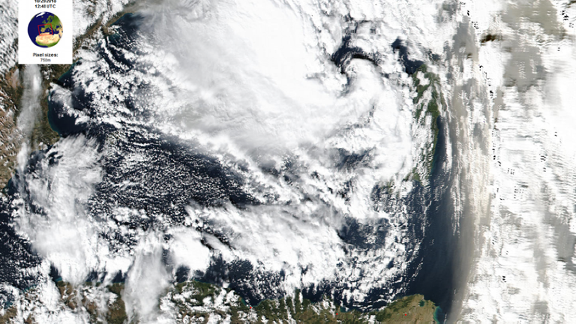 Intense Mediterranean cyclone's Alpine crossing