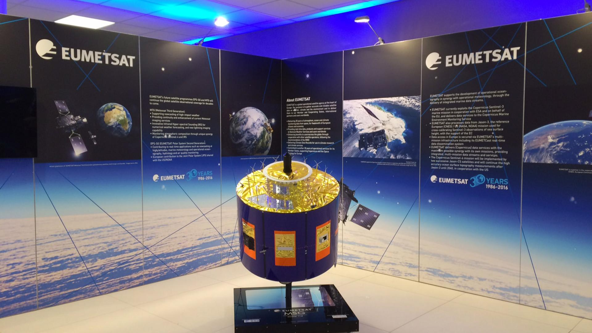 EUMETSAT booth ESS2016