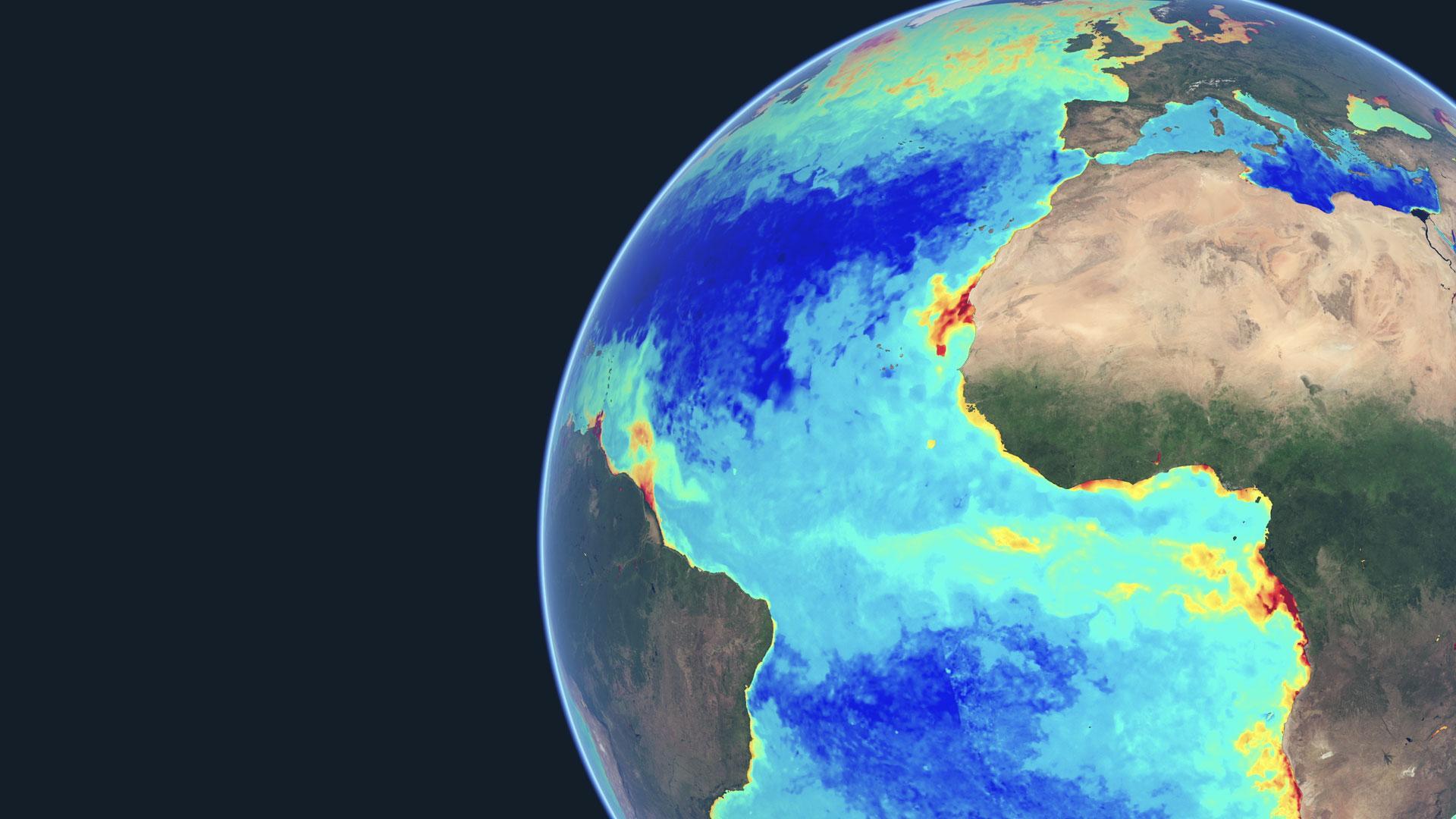 Monitoring Oceans A Spot