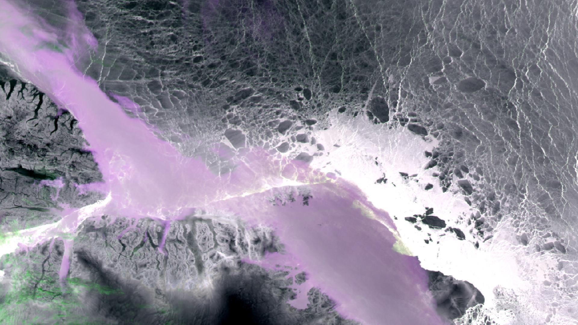 SLSTR sea-ice surface temperature over Greenland