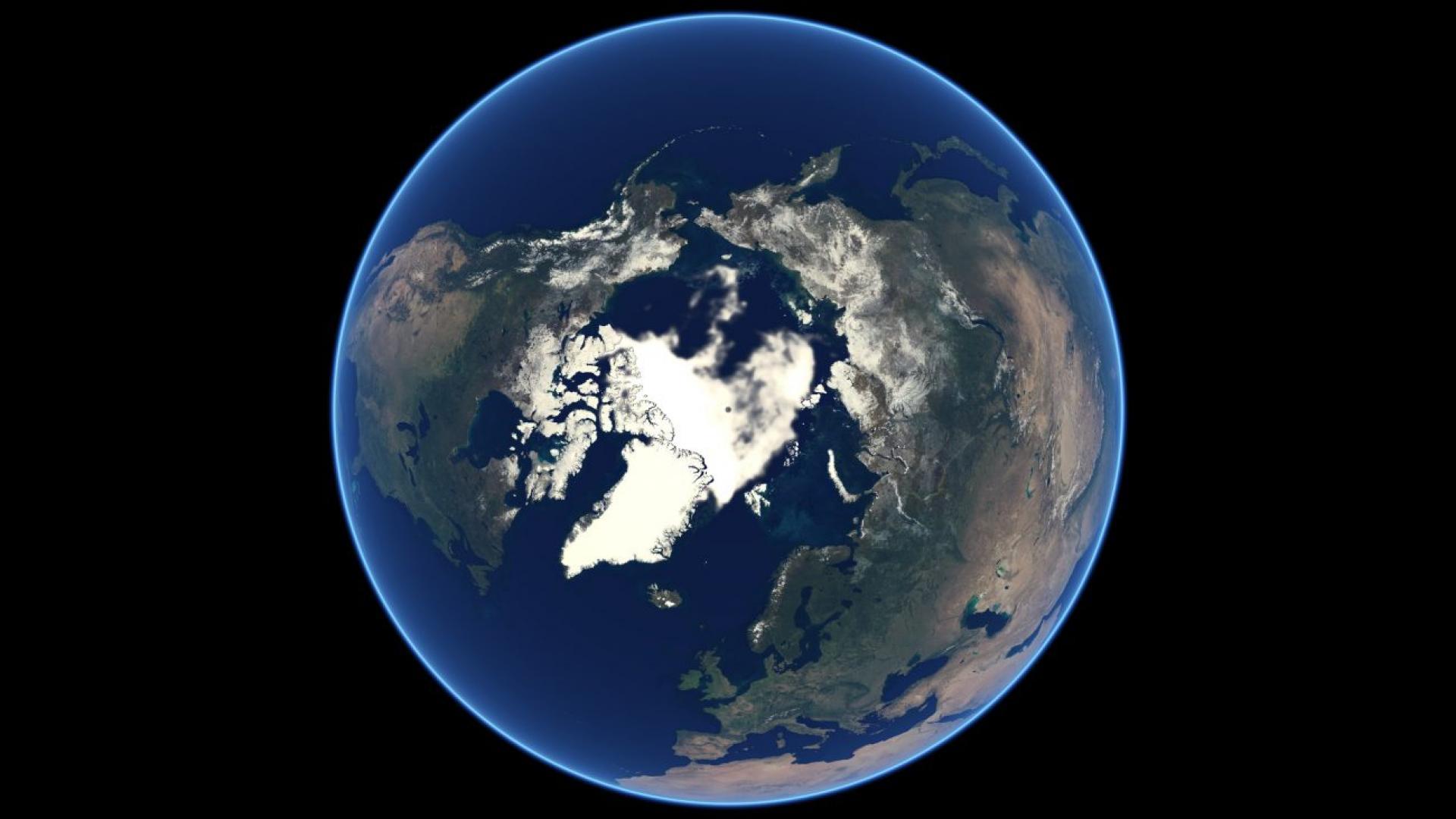 Arctic sea ice reaches sixth-lowest minimum