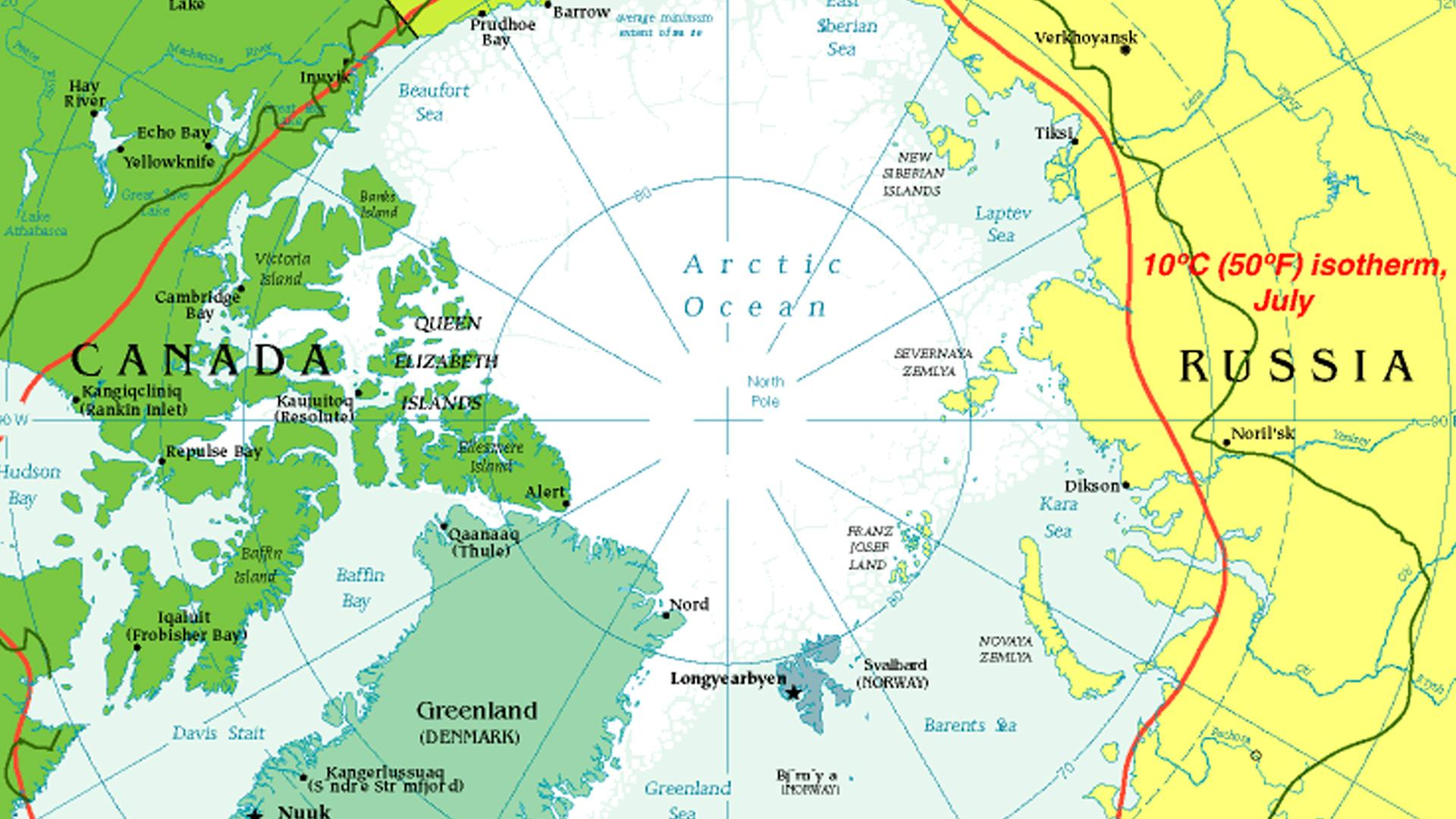 Climate and climate change in the Arctic