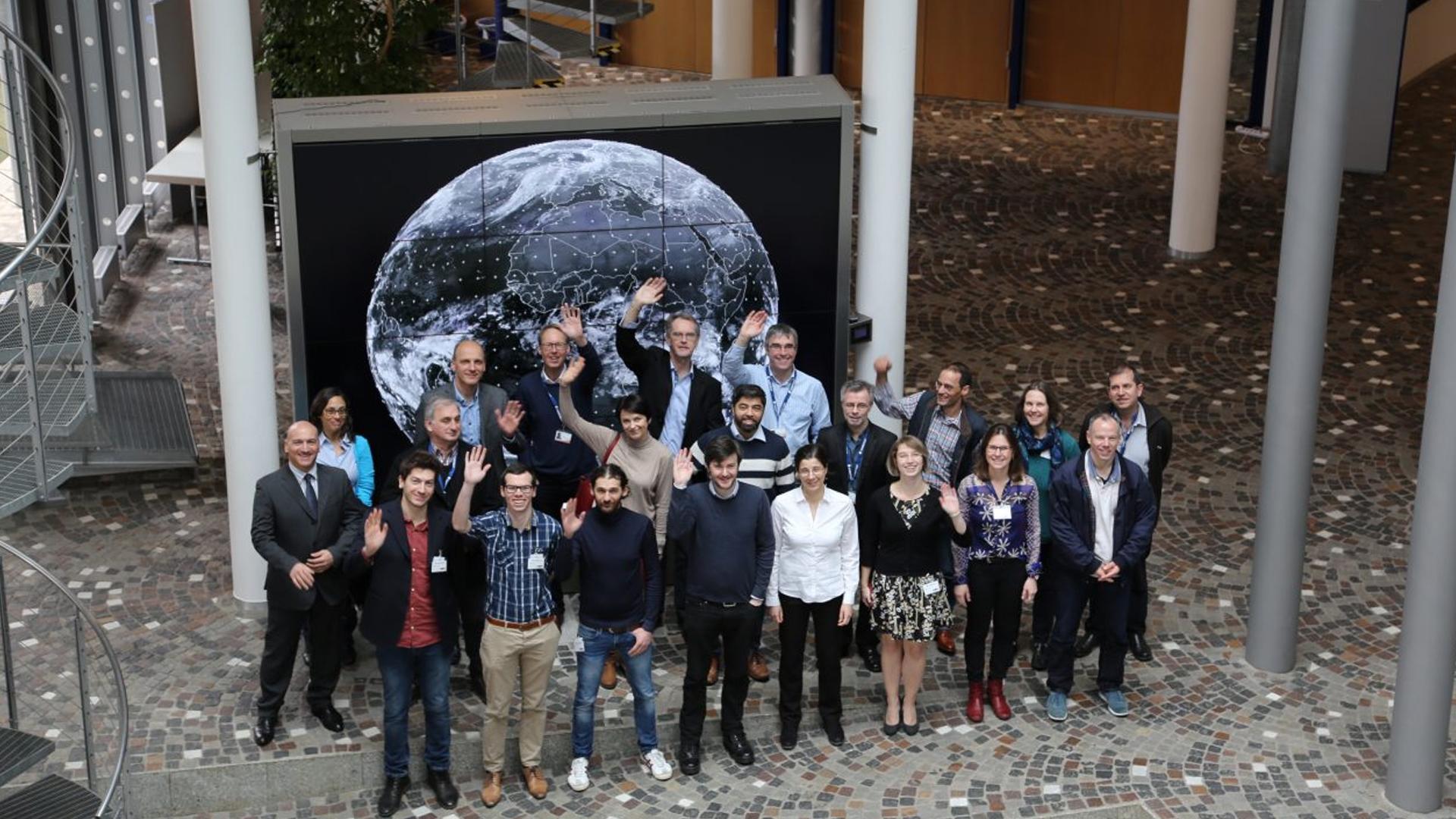 EUMETSAT fellows make their mark at ECMWF