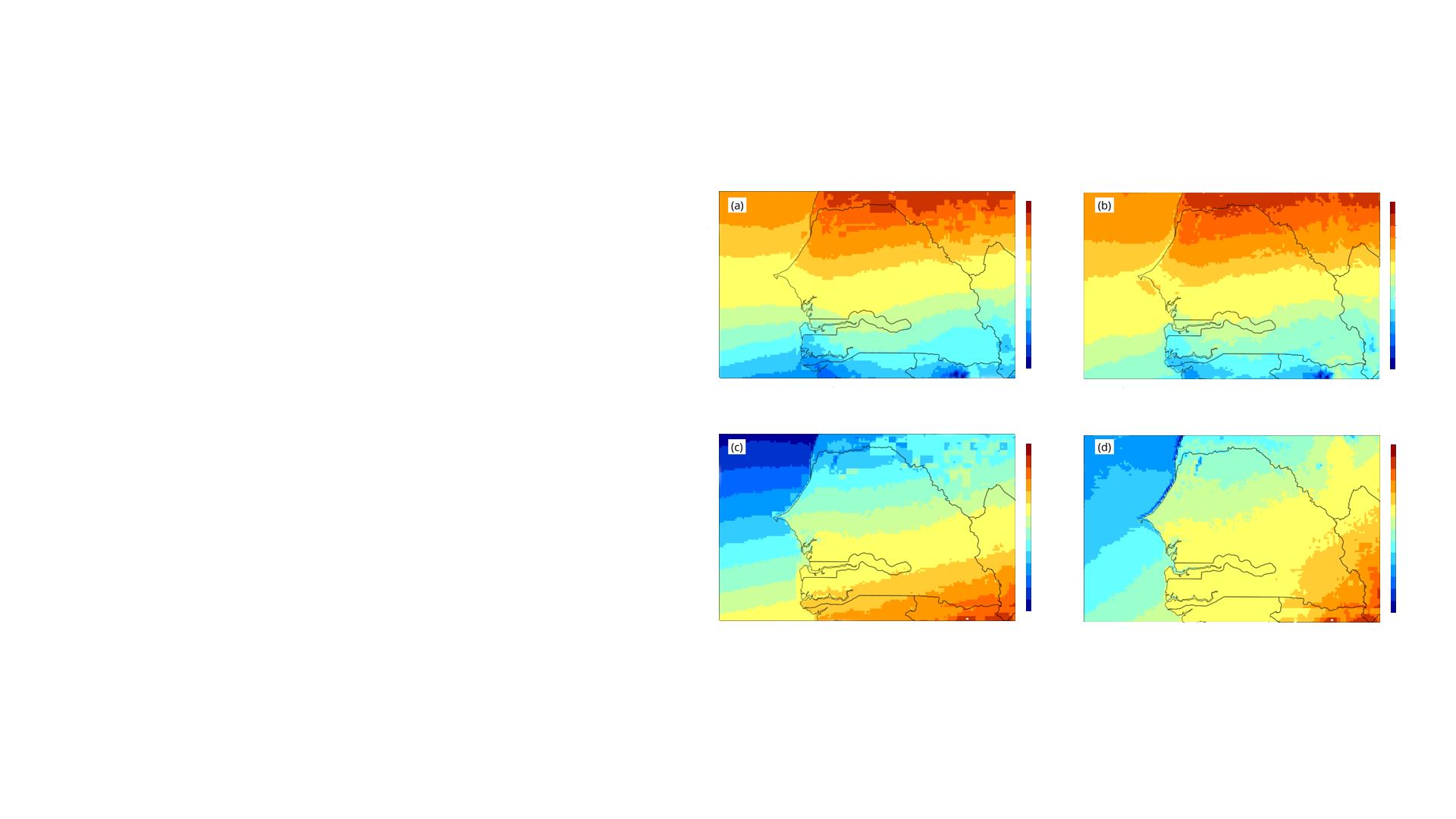 Analysis of CM SAF data over Senegal