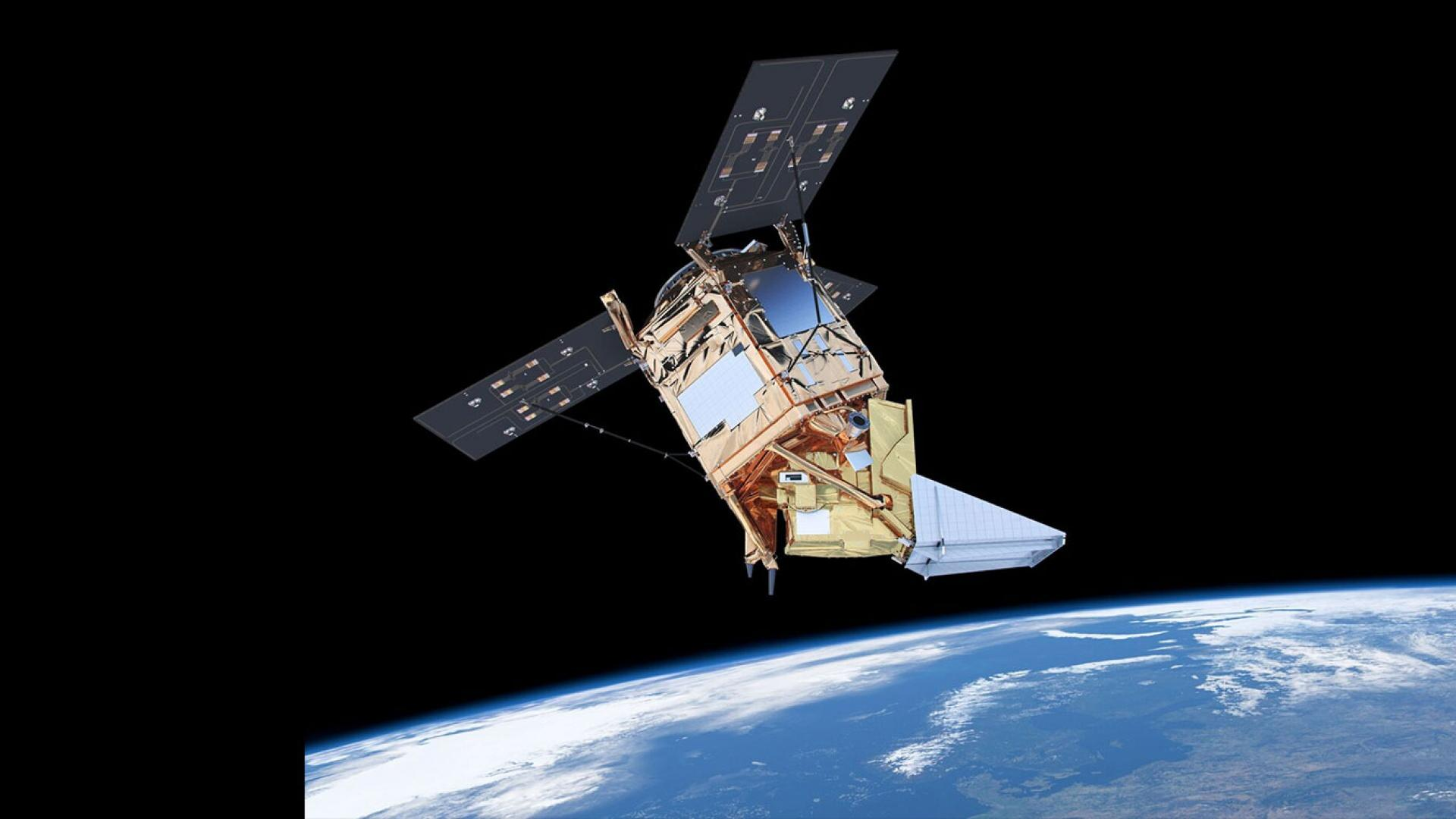 Sentinel-5P satellite