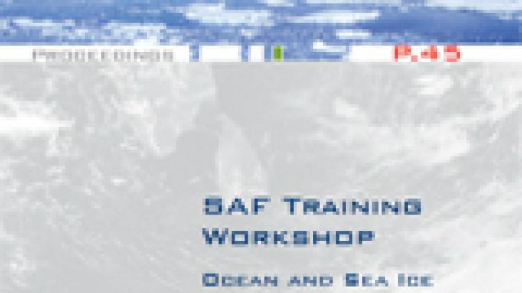 SAF Training Workshop - Ocean and Sea Ice Second Workshop
