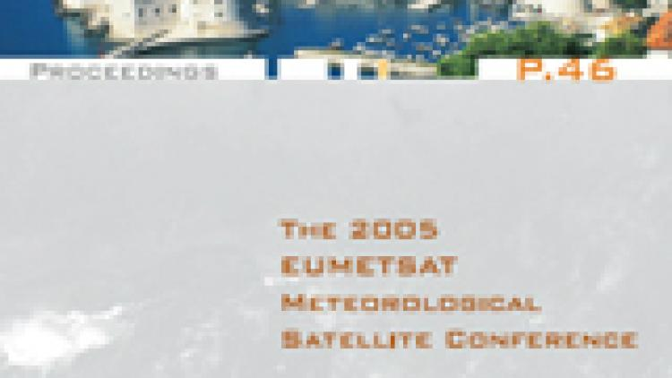 The 2005 EUMETSAT Meteorological Satellite Conference