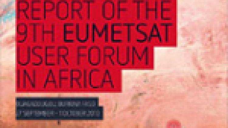 EUMETSAT 9th User Forum in Africa