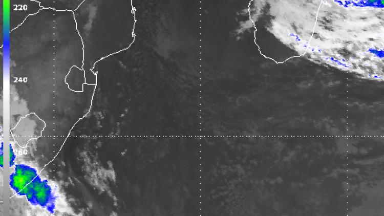 Tropical Storm Irina in a cyclonic loop