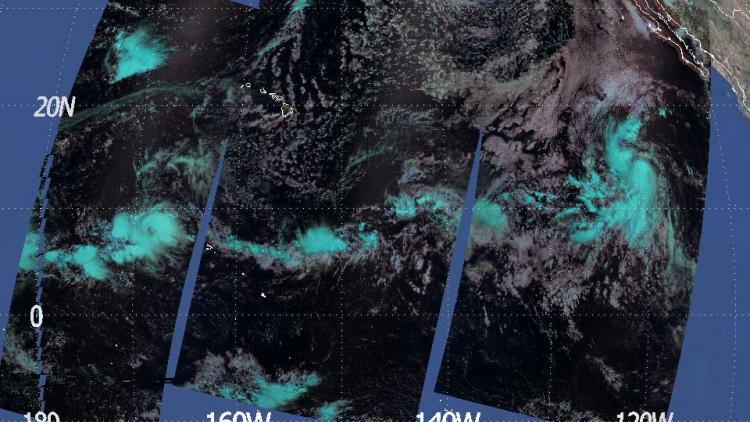 ITCZ over the North Pacific