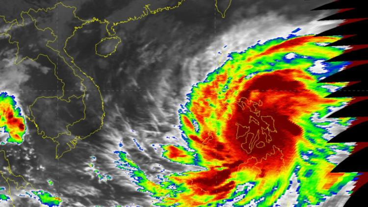 Super Typhoon Haiyan devastates the Philippines