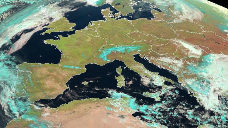 Record-breaking spring temperatures in Europe