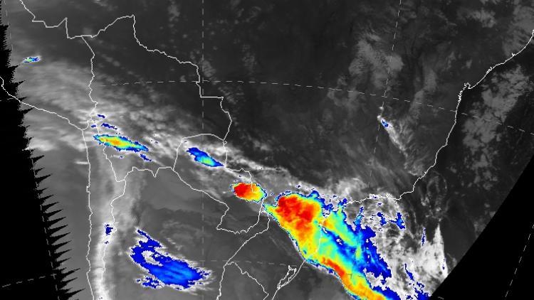 Severe floods in Brazil