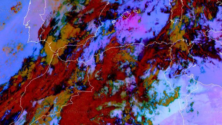 Saharan dust over the Balearics
