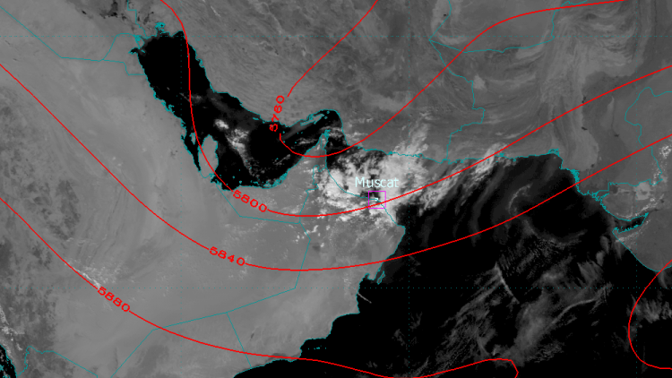 Severe rain, hail and dust storms hit Oman