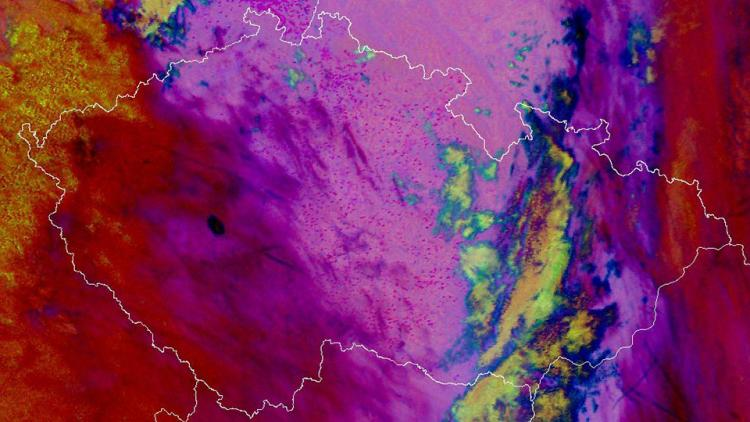 Traditional Beltane fires seen by Metop