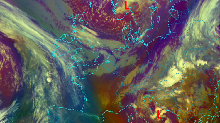Wintry conditions in late Spring in Europe